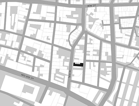 Map to Yaniv Pardo architects